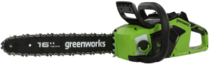 Greenworks Tools Battery electric Chainsaw GD40CS18