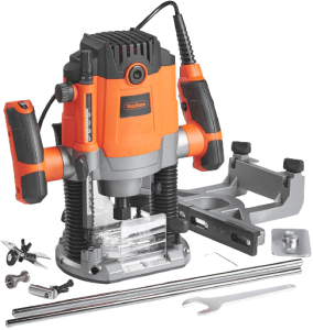 VonHaus_1600W_Router_Tool_With_1.2_and_1.4_Collet___Woodworking_Power_Tool___Soft_Start_and_Variable_Speed_Function