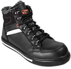 Black Hammer Mens Leather Safety Boots S3