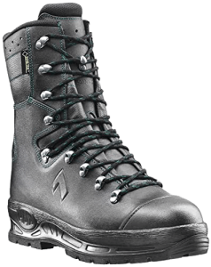 Haix Protector Pro The Classic Forest Boot with a High Leg Black